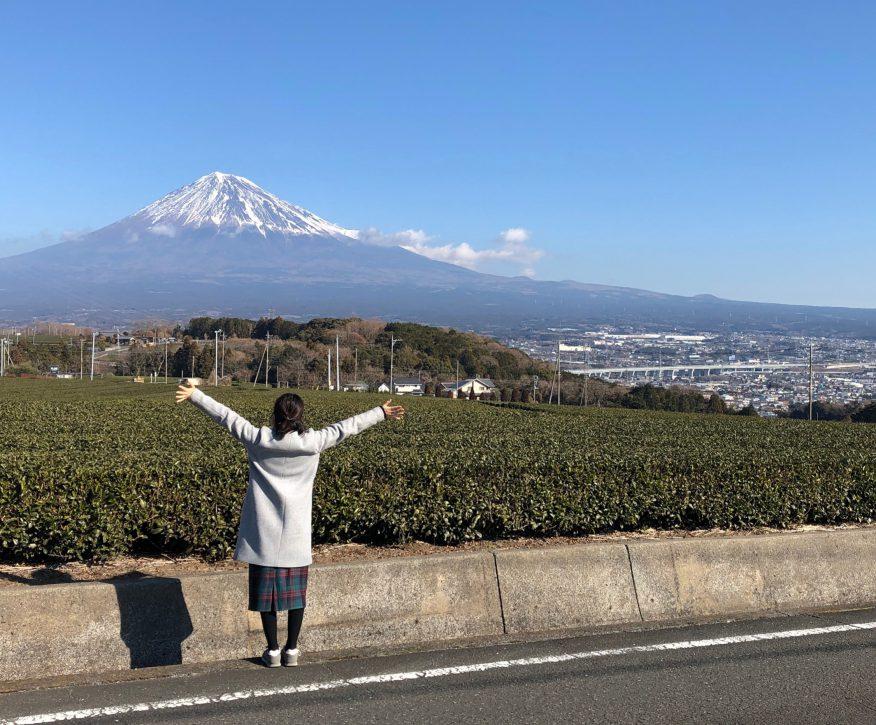 富士山パワ〜〜〜